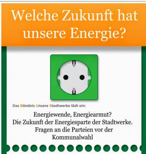EnergiE - soll bezahlbar bleiben - für alle!