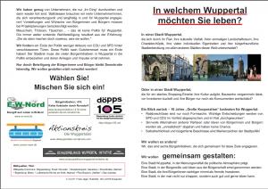 In welchem Wuppertal möchten Sie leben?