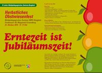 frisches Obst - gesund ungespritzt ;-)
