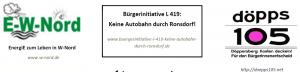 3 von 6 Gründungs-BI des BI-Netzwerk - Wuppertal gehört uns - allen!