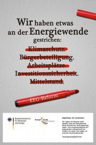 Energiewende - gestrichen?!